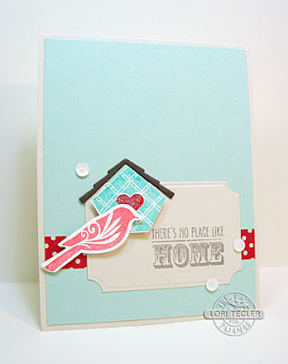 There's No Place Like Home card-designed by Lori Tecler/Inking Aloud