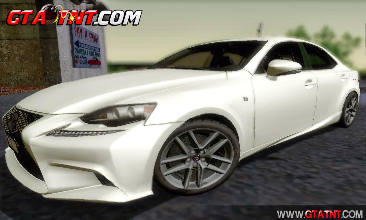 Lexus IS350 2014 F-SPORT para GTA San Andreas