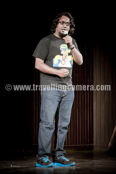 Today, I went to watch four great stand-up comedians of India take the stage with their performances at India Habitat Centre. The show was called