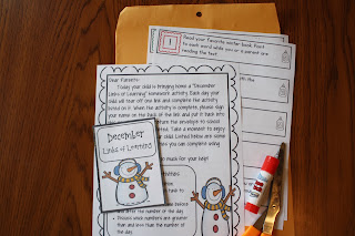 http://www.teacherspayteachers.com/Product/December-Links-of-Learning-Homework-Activity-Kindergarten-958155