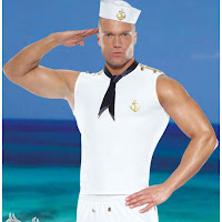 sexy sailor, marine, maritime, male, white uniform