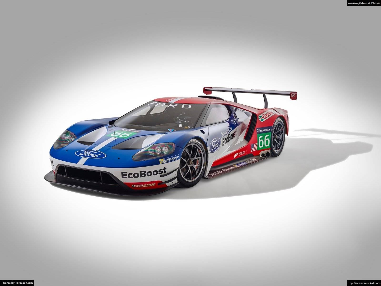 Hình ảnh xe ô tô Ford GT Le Mans Racecar 2016 & nội ngoại thất