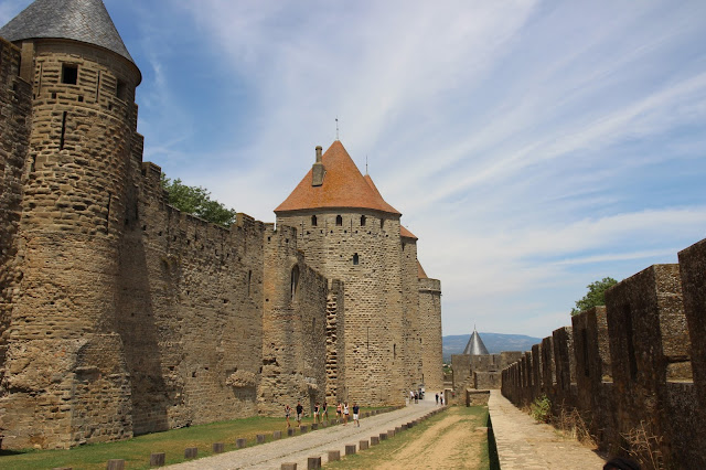carcassone, castle, chateau fort