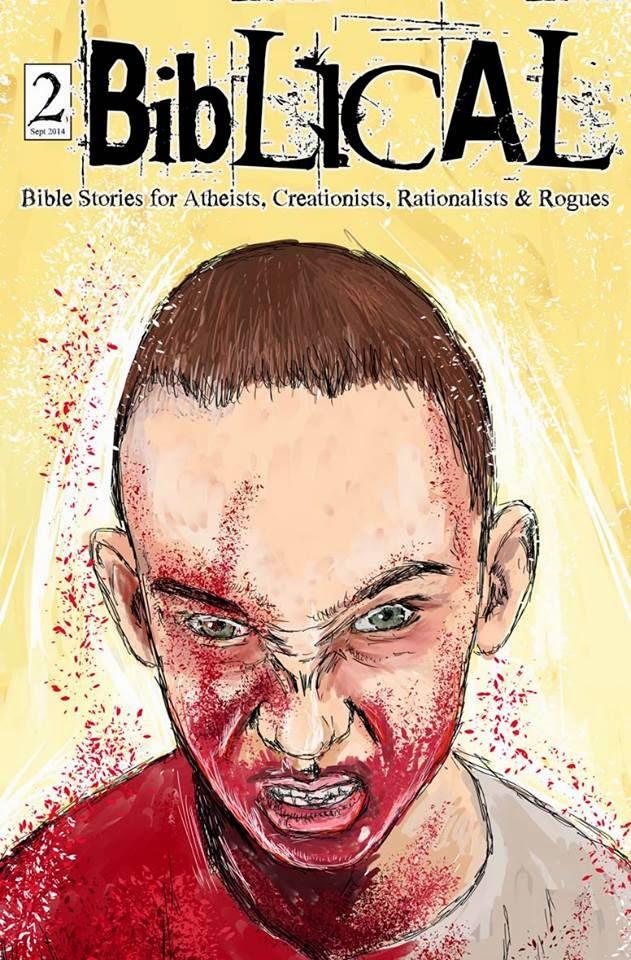 Biblical Comics Cover
