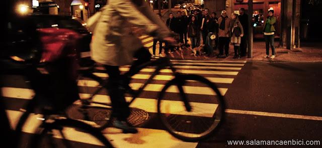 masa crítica, salamanca, marcha ciclista, carril bici, critical mass