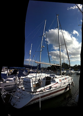 valuation Survey in Birdham Marina