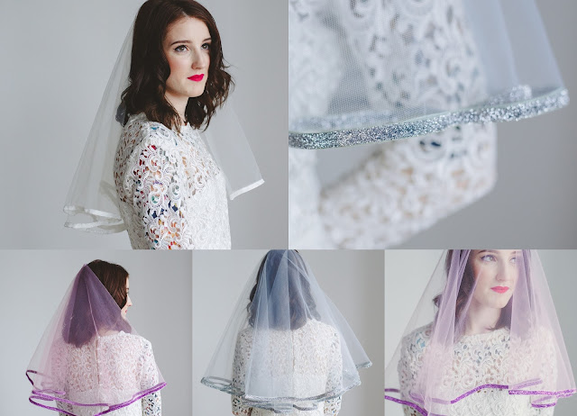 Rock n Roll Bride x Crown and Glory - Veil Collection‏ by What Laura did Next