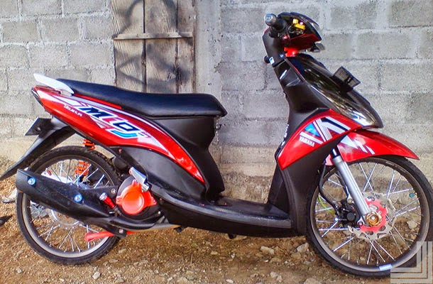 Top modifikasi motor mio j sporty