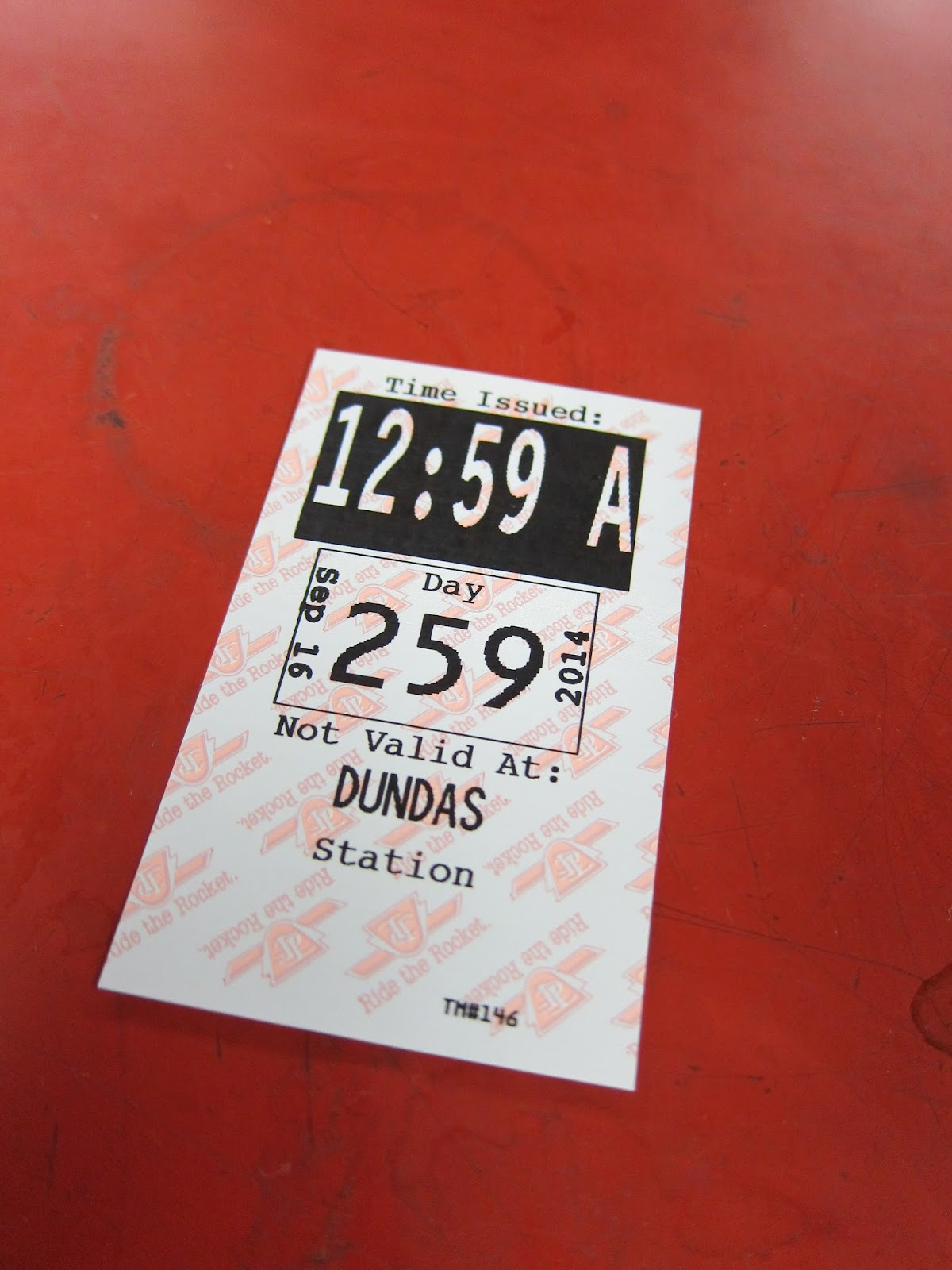 Dundas Station TTC transfer
