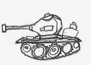 Tank source drawing