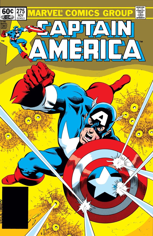 Captain America (1968) Issue #275 #191 - English 1
