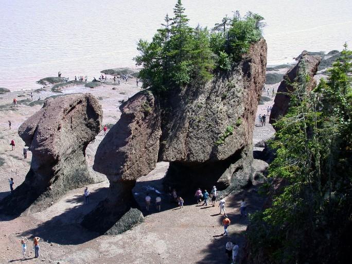 Nicolas Veracierta La bahía de las mareas gigantes se ubica en Canadá