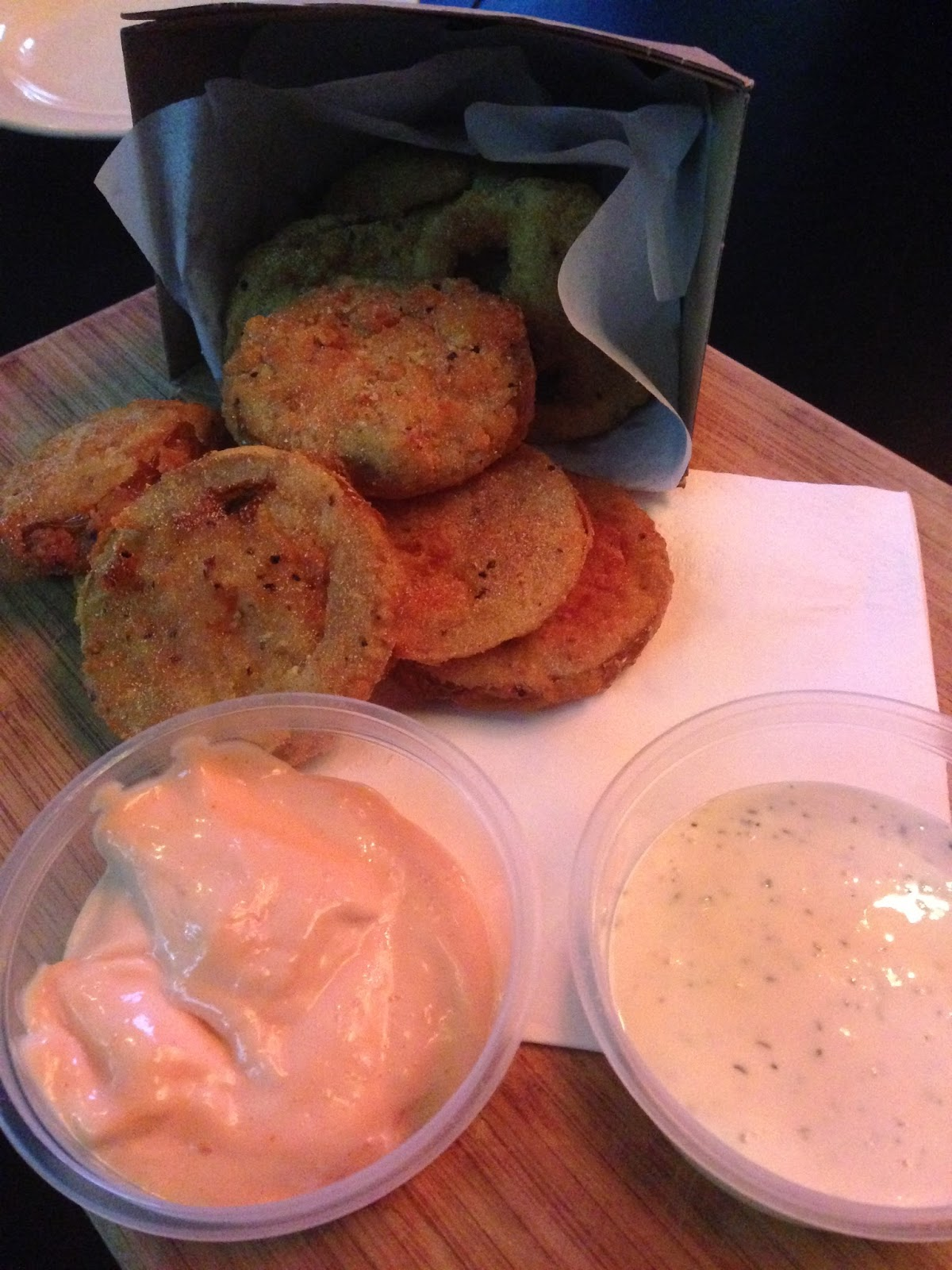 curious squire, adelaide, food, north adelaide, fried green tomatoes, dinner, lunch