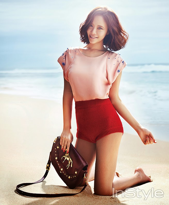 Hwang Jung Eum - InStyle Magazine January Issue 2014