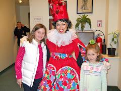 Katie, Becca and the Queen of Hearts.  Casey declined the photo...