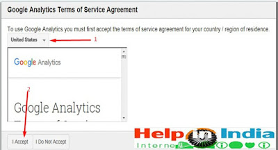Analytics terms of service