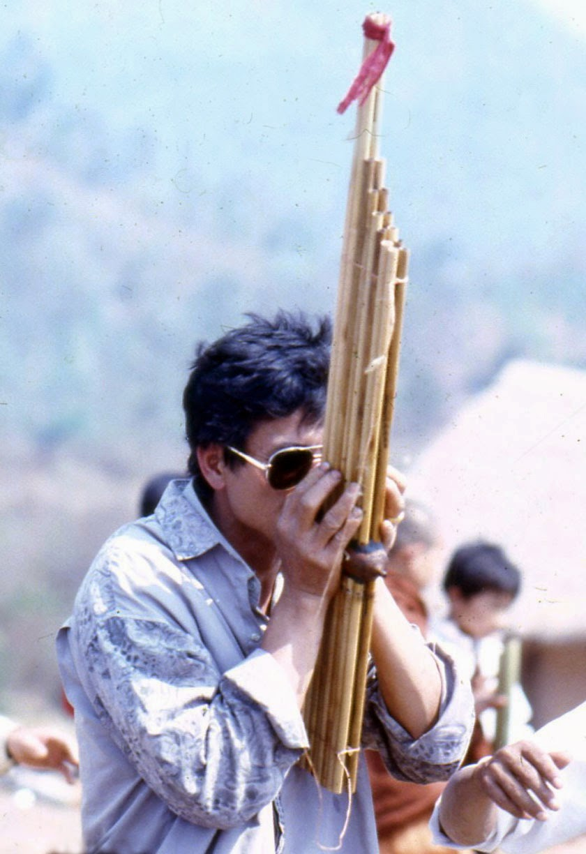 Lao on reed-pipe