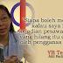Cina Babi DAP Teresa Kok Nak Mati kaitkan Pengganas Muslim dengan Nahas Pesawat MH370!!