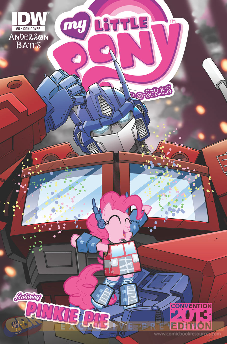 Transformers y My Little Pony: Raro crossover