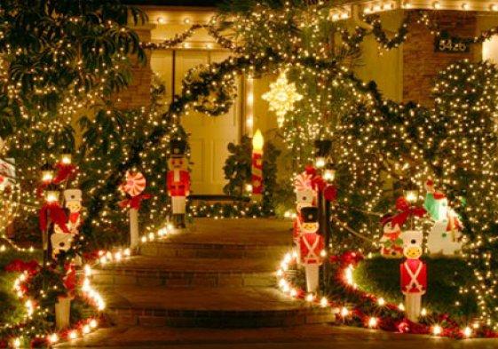 Fabulous Christmas świąteczne Oświetlenie Ogrodu Domu