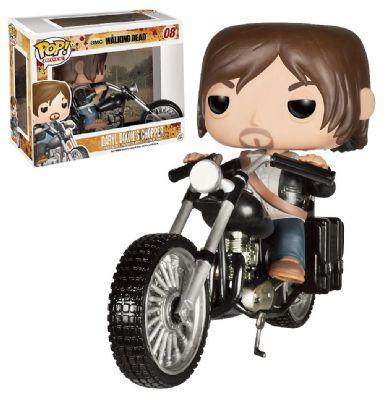 Cabezón Daryl DIxon con Motocicleta Chopper
