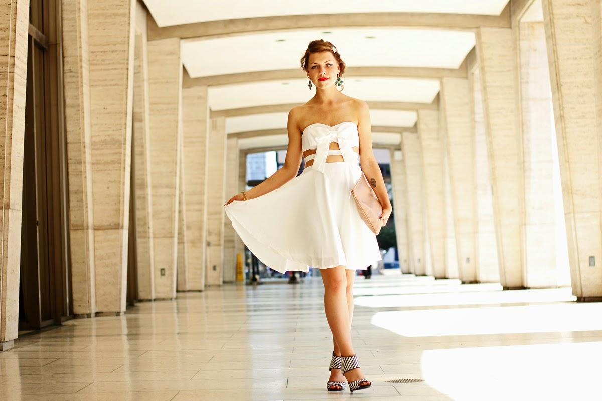 jasmin myberlinfashion outfitpost new york fashion week weißes kleid