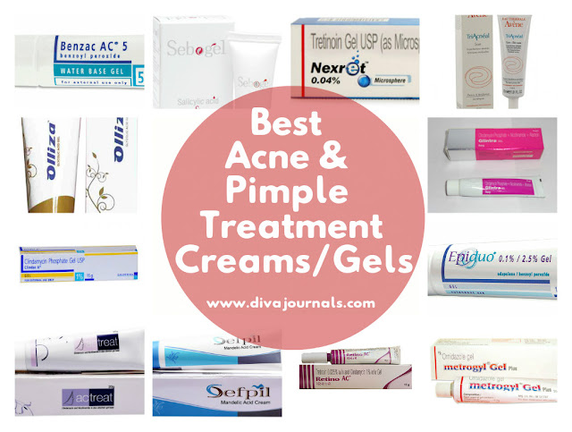 Best Acne & Pimple Treatment Creams/Gels