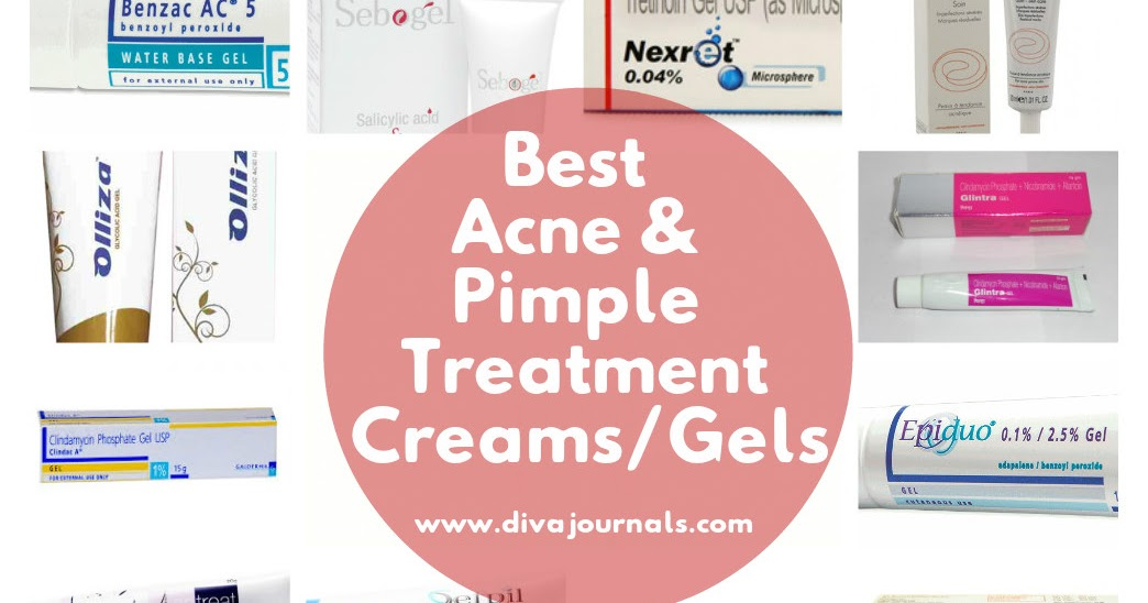 Best Acne & Pimple Treatment Creams/Gels - Diva Journals