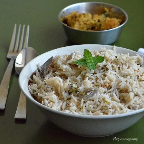 Coconut Milk Rice, Coconut Milk Pulao