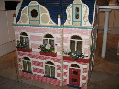 Helena 39 s miniatures groot poppenhuis for Poppenhuis bouwen
