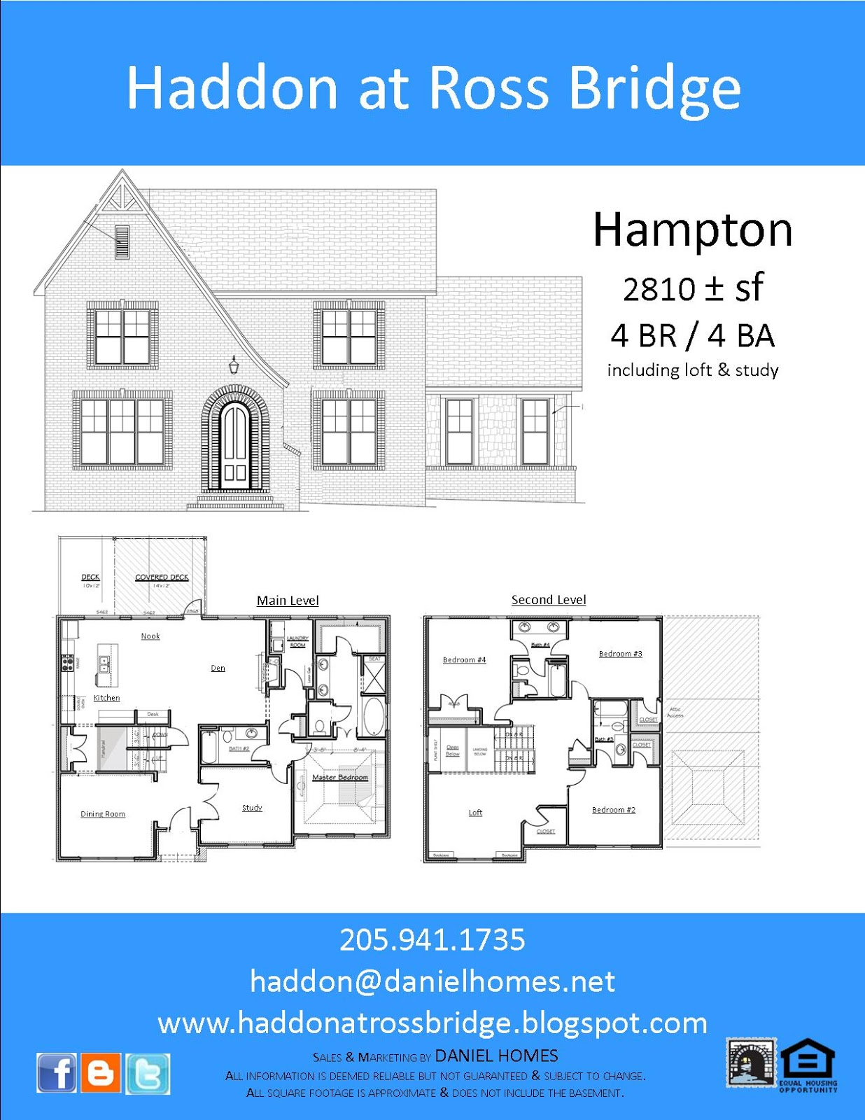 Haddon Home Plans