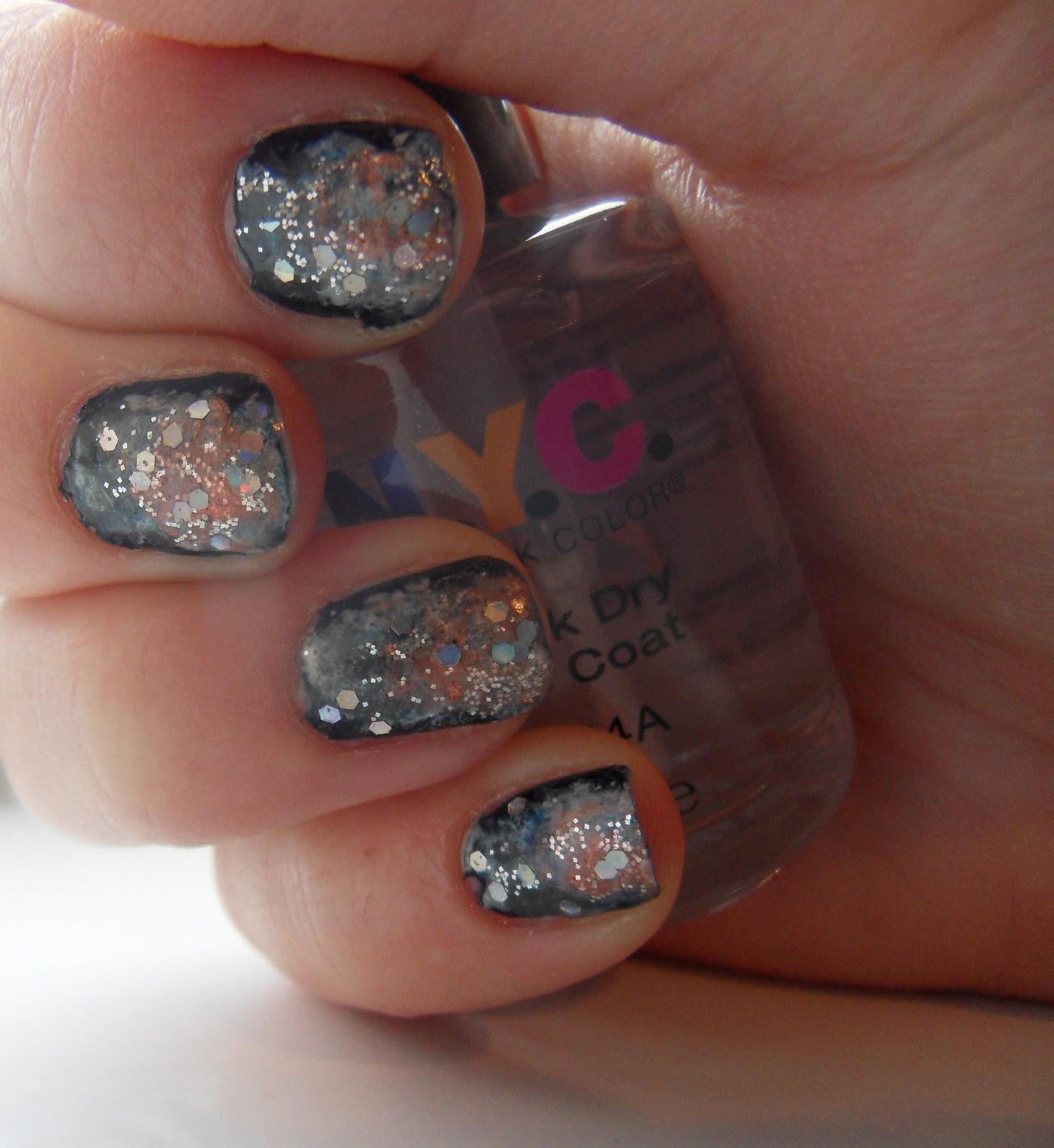 Charlie's Wonderland: Galaxy Nails Step by Step Tutorial