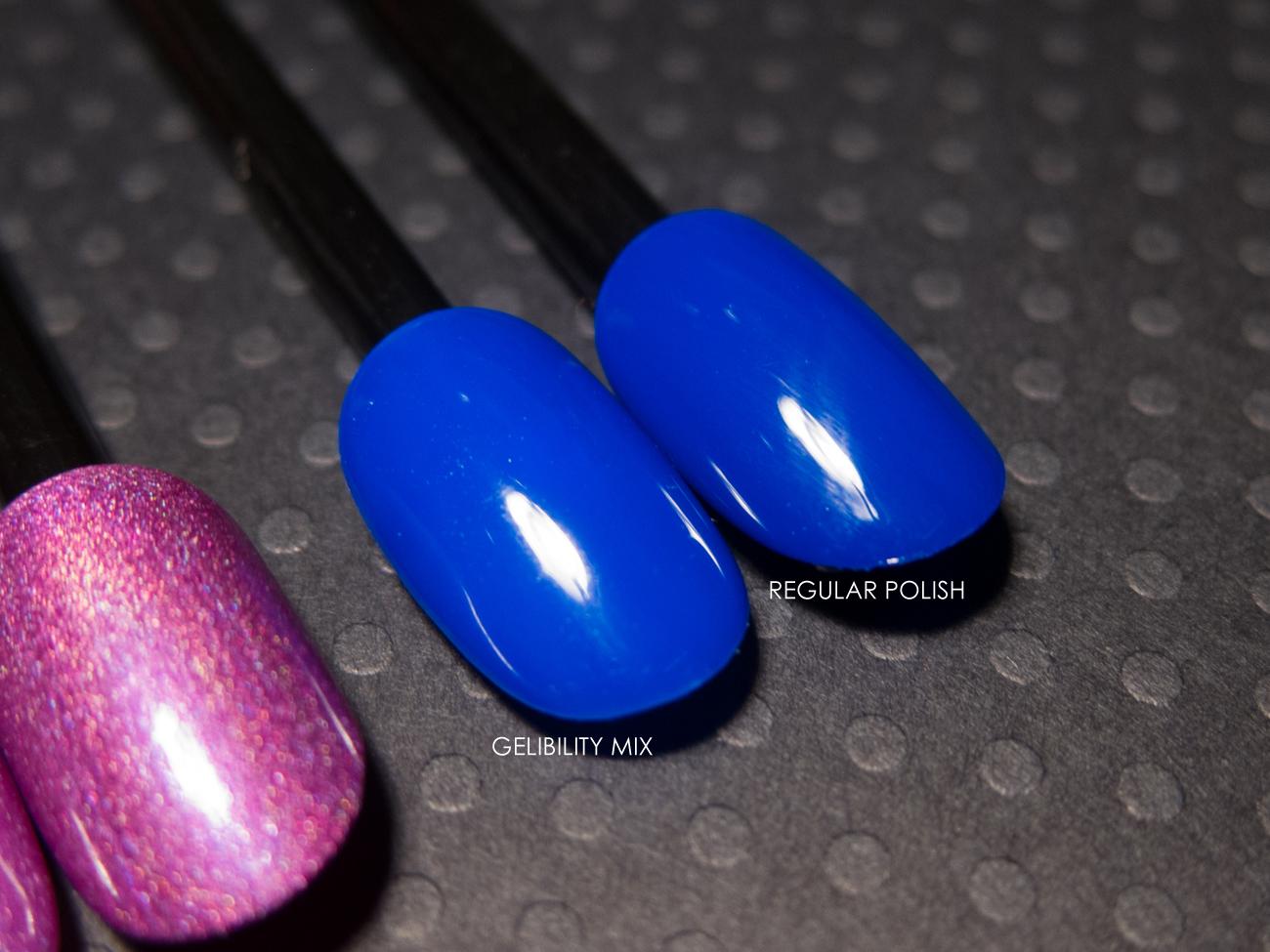 Cirque - NYFW as a gel polish via @chalkboardnails