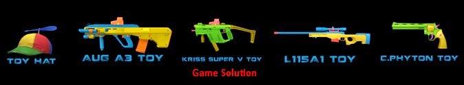Cara Mendapatkan Senjata Toy Weapon Point Blank Secara Gratis