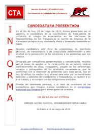 CANDIDATURA PRESENTADA