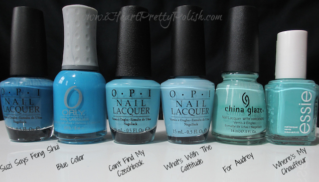 OPI Can't Find My Czechbook Comparison