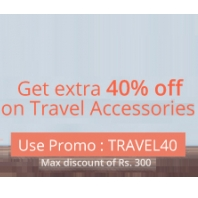 NearBuy : Travel Accessories at Flat 40% Off : BuyToEarn