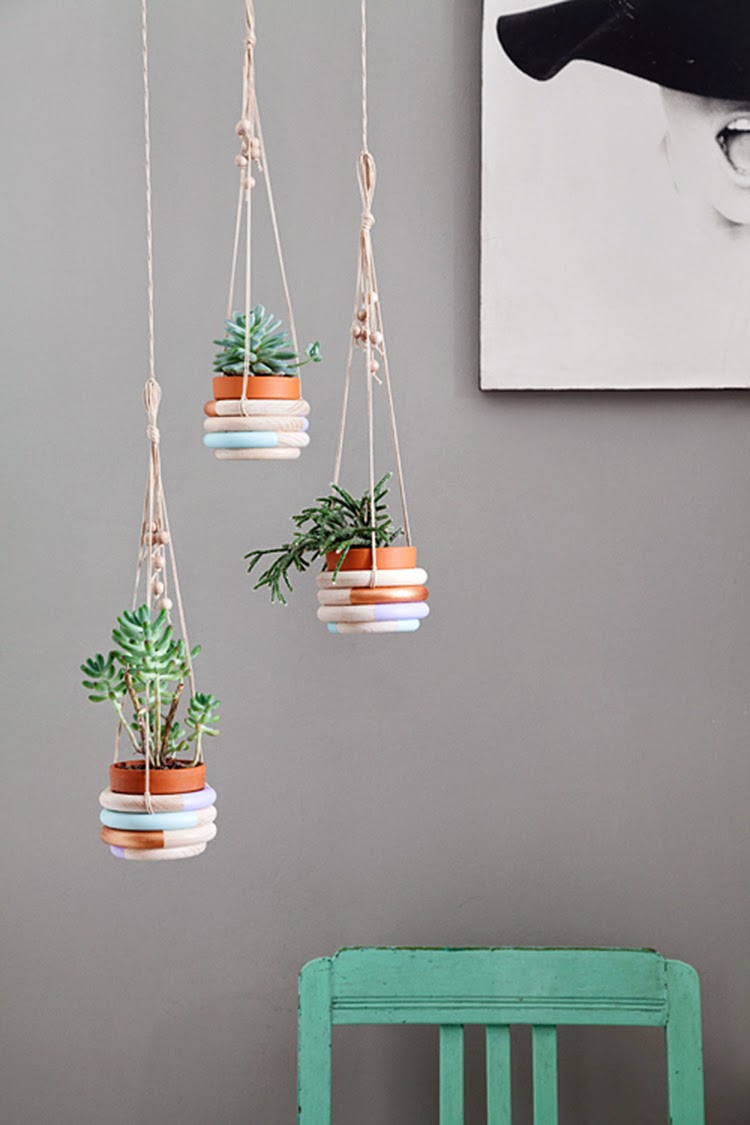 Diy Monday Plant Hangers Ohoh Blog