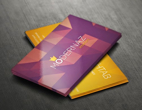 Business Card Design PSD for Free