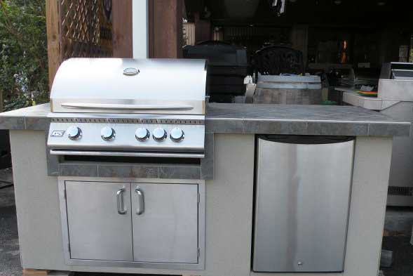 Outdoor kitchen new rcs brand ready made 7 5 39 summer for Ready made outdoor kitchen