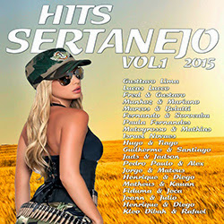 Hits Sertanejo Vol.1 2015 Frente Hits Sertanejo Vol.1 2015