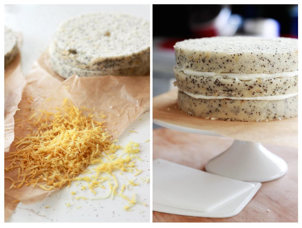 Always With Butter: Lemon Poppy Seed Cake with Lemon Cream ...