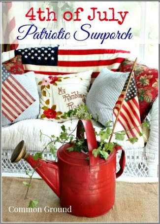 Patriotic Summer Sunporch