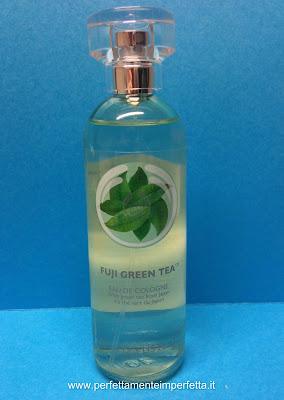 acqua di colonia tè verde the body shop fuji green tea