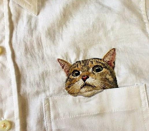 Embroidery By Hiroko Kubota
