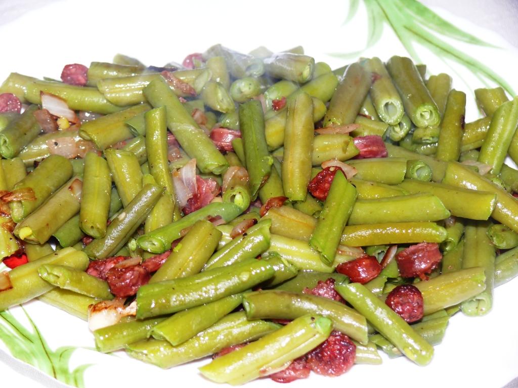 Cocinando en el mundo jud as verdes enriquecidas - Calorias de las judias verdes ...