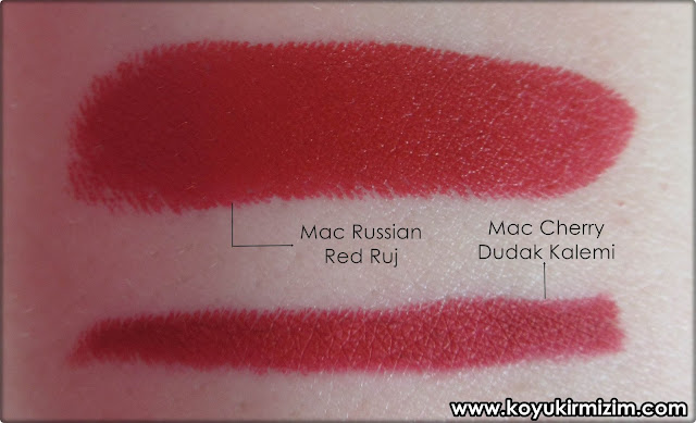 Mac Cherry Dudak Kalemi