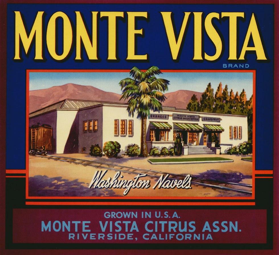 Santa Rosa  California Mission Mexican horse 1940/'s VTG Lemon Crate Label