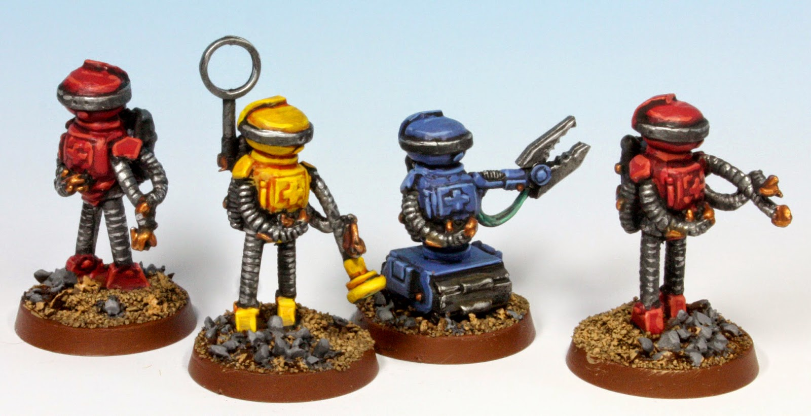 Stroknor macekiller salvage robot team these models are very old gamma world miniatures by grenadier they appealed to me because they are from the same era as my other models and fit in very publicscrutiny Image collections