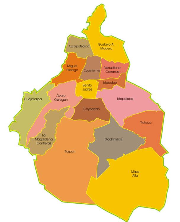 De delegaciones a municipios: ¿cómo cambiará la división política de la Ciudad de México?
